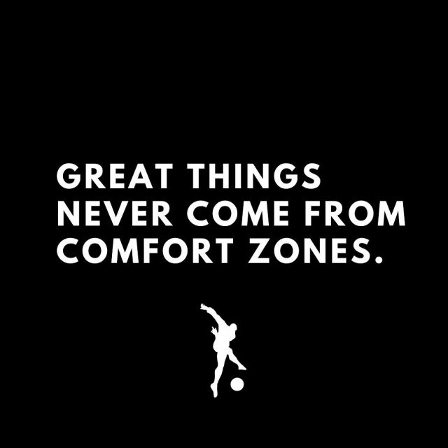 Old ways won't open new doors. Success is on the other side of your comfort zone💯‼️